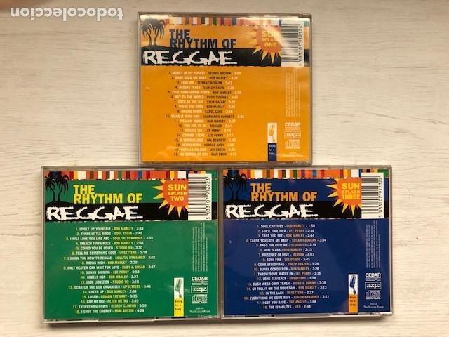 CDs de Música: Various - The Rhythm Of Reggae (3xCD, Comp) - Foto 3 - 215397067