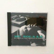 CDs de Música: MC SOLAAR – QUI SÈME LE VENT RÉCOLTE LE TEMPO FRANCE 1991. Lote 215417616
