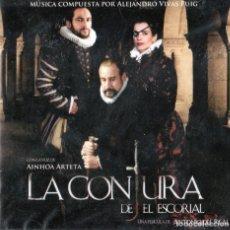 CDs de Música: ALEJANDRO VIVAS PUIG - LA CONJURA DE EL ESCORIAL. Lote 261675320
