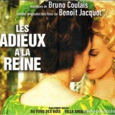 CDs de Música: BRUNO COULAIS - LES ADIEUX Á LA REINE. Lote 257302290