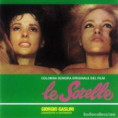 CDs de Música: GIORGIO GASLINI - LE SORELLE. Lote 215468443