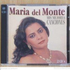 CDs de Música: MARIA DEL MONTE (MIS MEJORES CANCIONES) 2 CD'S 1995 HORUS. Lote 215486012