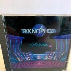 CDs de Música: TEKKNOPHOBIA (1992). Lote 215486955