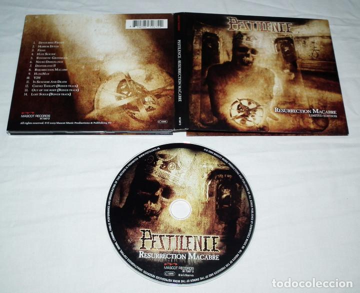 CDs de Música: CD PESTILENCE - RESURRECTION MACABRE - Foto 2 - 215504976