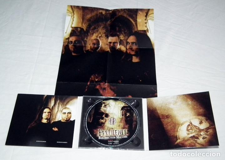 CDs de Música: CD PESTILENCE - RESURRECTION MACABRE - Foto 3 - 215504976