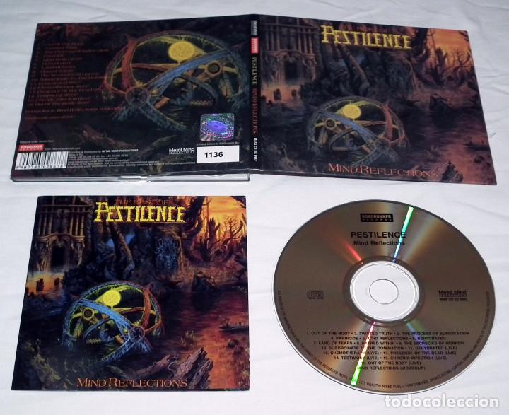 CDs de Música: CD PESTILENCE - MIND REFLECTIONS - Foto 2 - 215505377