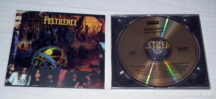 CDs de Música: CD PESTILENCE - MIND REFLECTIONS - Foto 3 - 215505377