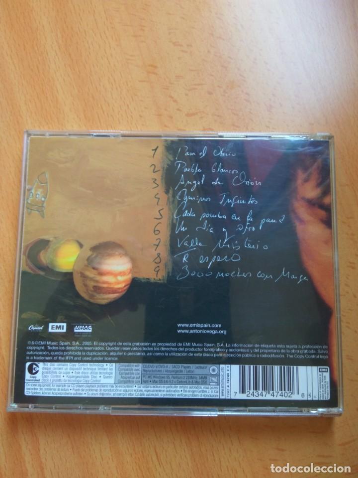 CDs de Música: CD Antonio Vega – 3000 Noches Con Marga - Foto 2 - 215508475