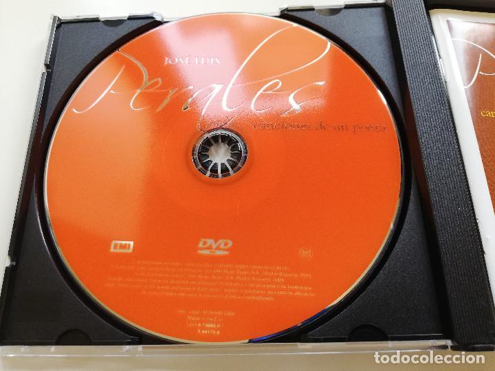 CDs de Música: JOSÉ LUIS PERALES. CANCIONES DE UN POETA (2 CD + DVD CON SUS MEJORES ACTUACIONES EN RTVE) - Foto 2 - 215558552
