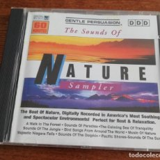 CDs de Música: THE SOUNDS OF NATURE SAMPLER - RELAXING -CD 1995 SPECIAL MUSIC. Lote 215569933