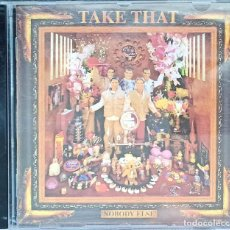CDs de Música: TAKE THAT – NOBODY ELSE. Lote 215579423