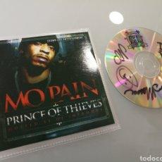 CDs de Música: MO PAIN - PRINCE OF THIEVES .FIRMADO (MAQUETA 2011 CROWN LIFE).HIP HOP BROOKLYN .. Lote 215608337