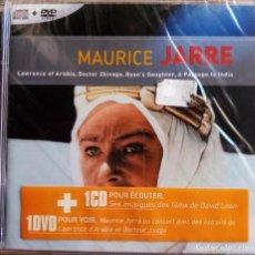 CDs de Música: LAS MEJORES BANDAS SONORAS DE MAURICE JARRE CD +DVD PRECINTADO. Lote 215610033