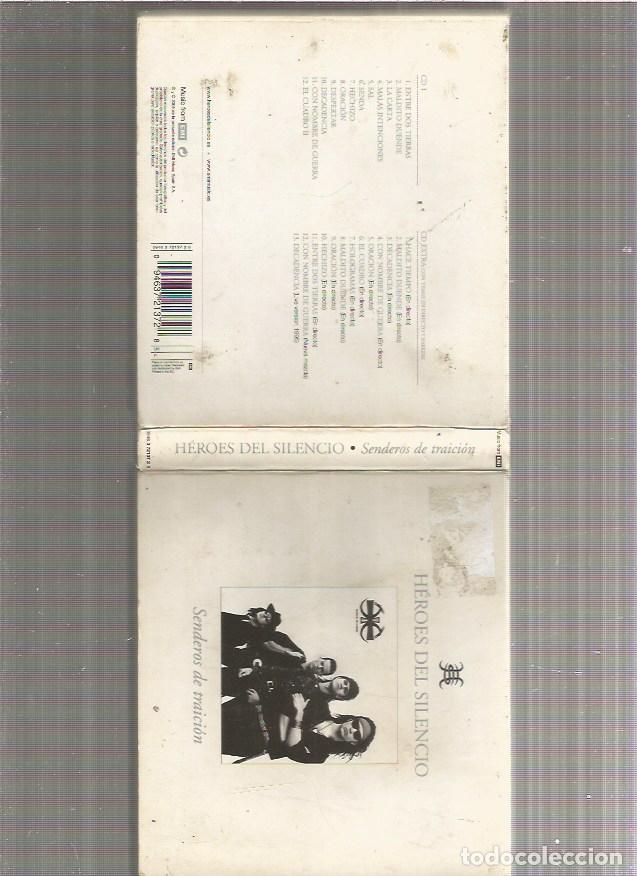 HEROES DEL SILENCIO SENDEROS 2 CD (Música - CD's Rock)
