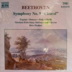 "CDs de Música: BEETHOVENN SINFONÍA N9 ""CHORAL"" PRECINTADO. Lote 215628706"