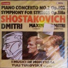 CDs de Música: DIMITRI SHOSTAKOVICH PRECINTADO. Lote 215629472