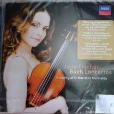 CDs de Música: CONCIERTOS DE J. S BACH POR JULIA FISCHER PRECINTADO. Lote 215630102