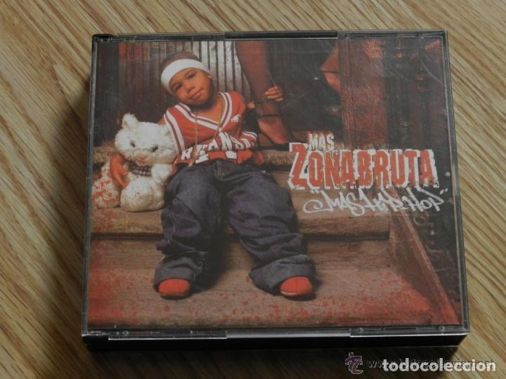MAS ZONA BRUTA MAS HIP HOP 2003 3 CD + DVD CHOJIN SFDK ZPU CPV SHOTTA VKR KASE FRANK T ARIANNA PUEL (Música - CD's Hip hop)