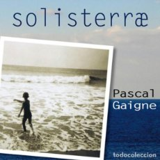 CDs de Musique: SOLISTERRAE - PASCAL GAIGNE 2CDS. Lote 193407708