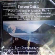 CDs de Música: EDGARD GRIEF. PRECINTADO. Lote 215664110