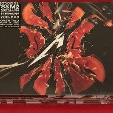 CDs de Música: METALLICA - S& M 2 - 2 CD + 1DVD, DIGIPACK. Lote 215664695