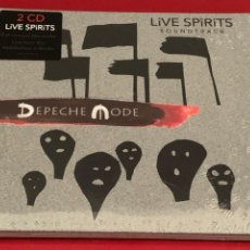 CDs de Música: DEPECHE MODE - LIVE SPIRITS SOUNDTRACK - 2 CD. Lote 215665782