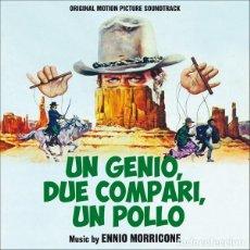 CDs de Musique: ENNIO MORRICONE - UN GENIO, DUE COMPARI, UN POLLO + SONNY & JED. Lote 228044815