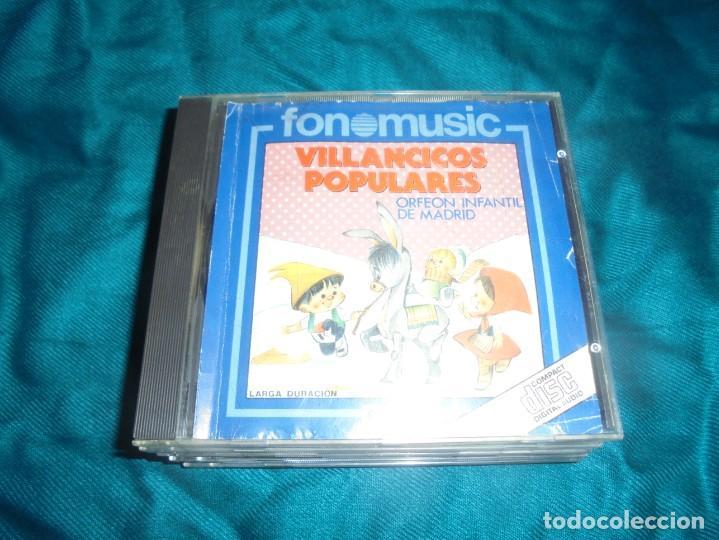 VILLANCICOS POPULARES. ORFEON INFANTIL DE MADRID. FONOMUSIC, 1988. CD (Música - CD's Otros Estilos)