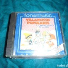 CDs de Música: VILLANCICOS POPULARES. ORFEON INFANTIL DE MADRID. FONOMUSIC, 1988. CD. Lote 215741036