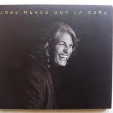 CDs de Música: JOSÉ MERCÉ. DOY LA CARA. CD PARLOPHONE 190295975081. ESPAÑA 2016. ALEJANDRO SANZ. SABINA. CALAMARO.. Lote 215747508
