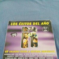 CDs de Música: LOS ÉXITOS DEL AÑO Ñ 3 CDS + DVD. Lote 215747982
