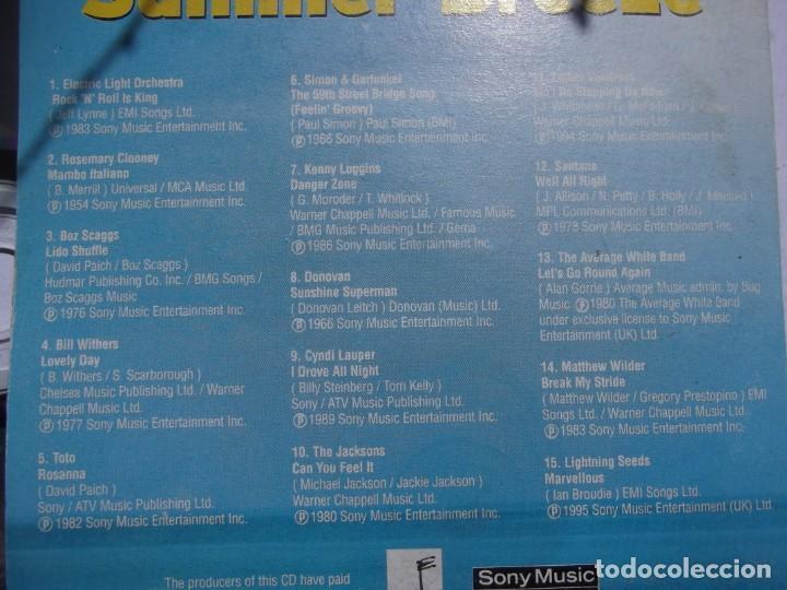 CDs de Música: Cd Musical de 15 sensacionales temas de verano de los 70/80 - Foto 3 - 215775151