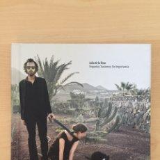 CDs de Música: CD LIBRO BOOK JULIO DE LA ROSA -PEQUEÑOS TRASTORNOS SIN IMPORTANCIA-ERNIE RECORDS ED LIMITADA- RARO. Lote 215791860