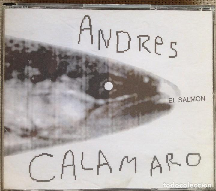 ANDRES CALAMARO - EL SALMON - BOX 5 CD DRO/WARNER/GASA 2000 (Música - CD's Rock)