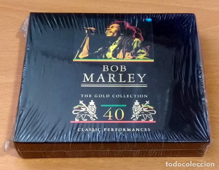 BOB MARLEY - THE GOLD COLLECTION - 40 CLASSIC PERFORMANCES - CD DOBLE NUEVO SIN ESTRENAR PRECINTADO (Música - CD's Reggae)