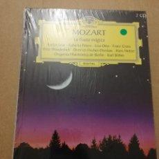 CDs de Música: MOZART. LA FLAUTA MÁGICA (2 CD) GRAN SELECCIÓN DEUTSCHE GRAMMOPHON (PRECINTADO). Lote 215806687