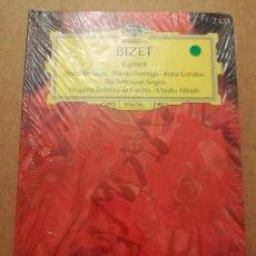 CDs de Música: GEORGES BIZET. CARMEN (2 CD) GRAN SELECCIÓN DEUTSCHE GRAMMOPHON (PRECINTADO). Lote 215807120