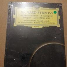 CDs de Música: RICHARD STRAUSS. ASÍ HABLÓ ZARATUSTRA (2 CD) GRAN SELECCIÓN DEUTSCHE GRAMMOPHON (PRECINTADO). Lote 215807358