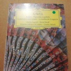 CDs de Música: RAVEL. BOLERO / RAPSODIA ESPAÑOLA (2 CD) GRAN SELECCIÓN DEUTSCHE GRAMMOPHON (PRECINTADO). Lote 215807486