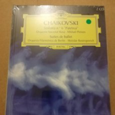 CDs de Música: CHAIKOVSKI. SINFONÍA Nº 6 PATÉTICA / SUITES DE BALLET (2 CD) DEUTSCHE GRAMMOPHON (PRECINTADO). Lote 215807731
