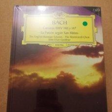 CDs de Música: BACH. CANTATAS BWV 140 Y 147 / LA PASIÓN SEGÚN SAN MATEO (2 CD) DEUTSCHE GRAMMOPHON (PRECINTADO). Lote 215807911