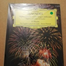 CDs de Música: HAENDEL. MÚSICA PARA LOS REALES FUEGOS ARTIFICIALES (2 CD) DEUTSCHE GRAMMOPHON (PRECINTADO). Lote 215808026