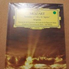 CDs de Música: MOZART. SINFONÍAS Nº 40 Y 41 JÚPITER / RÉQUIEM (2 CD) DEUTSCHE GRAMMOPHON (PRECINTADO). Lote 215808115