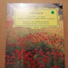CDs de Música: VIVALDI. LAS CUATRO ESTACIONES (2 CD) RAN SELECCIÓN DEUTSCHE GRAMMOPHON (PRECINTADO). Lote 215808372