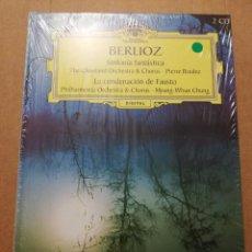 CDs de Música: BERLIOZ. SINFONÍA FANTÁSTICA / LA CONDENACIÓN DE FAUSTO (2 CD) DEUTSCHE GRAMMOPHON (PRECINTADO). Lote 215809096