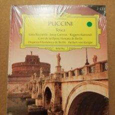 CDs de Música: PUCCINI. TOSCA (2 CD) GRAN SELECCIÓN DEUTSCHE GRAMMOPHON (PRECINTADO). Lote 215809417