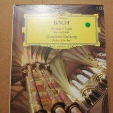 CDs de Música: BACH. TOCATAS Y FUGAS / VARIACIONES GOLDBERG (2 CD) DEUTSCHE GRAMMOPHON (PRECINTADO). Lote 215809493