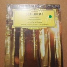 CDs de Música: SCHUBERT. IMPROMPTUS / LA BELLA MOLINERA (2 CD) DEUTSCHE GRAMMOPHON (PRECINTADO). Lote 215809606
