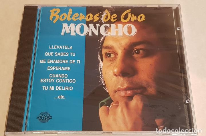 MONCHO / BOLEROS DE ORO / CD - PERFIL-1989 / 20 TEMAS / PRECINTADO A ESTRENAR. (Música - CD's Melódica )