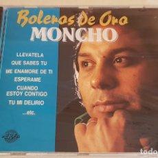 CDs de Música: MONCHO / BOLEROS DE ORO / CD - PERFIL-1989 / 20 TEMAS / PRECINTADO A ESTRENAR.. Lote 215819266